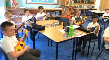 Year 5 Ukelele Lessons